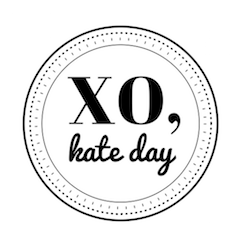 XO, Kate Day